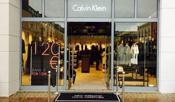 Abertura Loja Calvin Klein