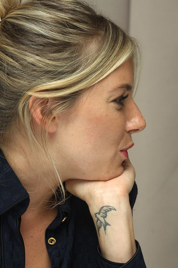 Sienna Miller's swallow tattoo