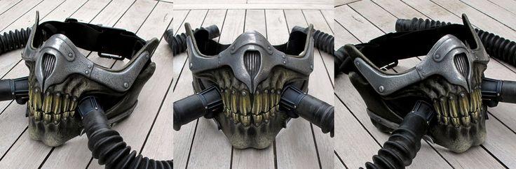 Immortan Joe Mask by Thomasotom.deviantart.com on @DeviantArt