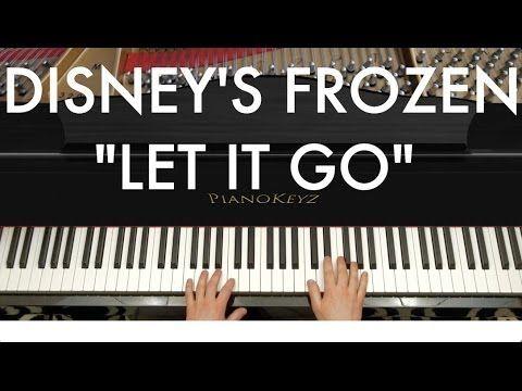 "Disney's Frozen ""Let It Go"" by Idina Menzel Piano Cover (Ryan Jones)"