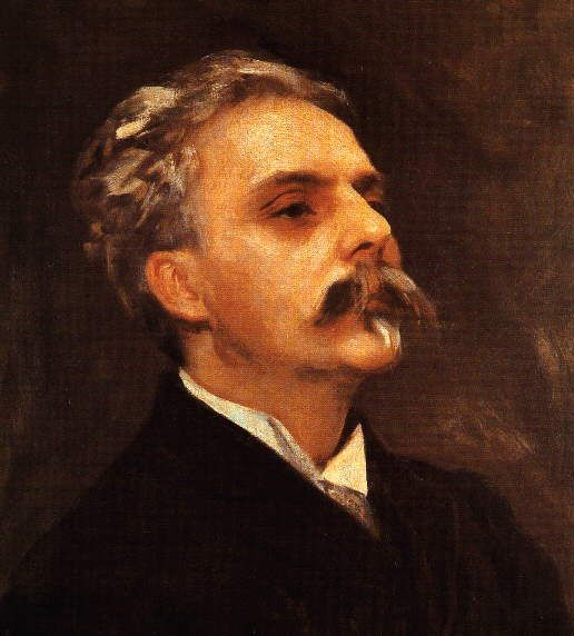 Portrait of Gabriel Fauré