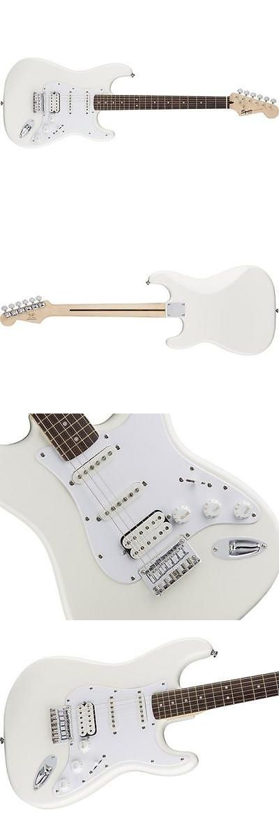 musical instruments: Squier Bullet Strat Hss Ht Electric Guitar (Arctic White) -> BUY IT NOW ONLY: $149.99 on eBay!
