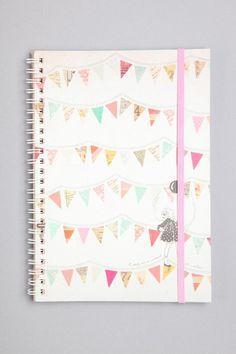 Me encanta este tipo de decoracion en los cuadernos!