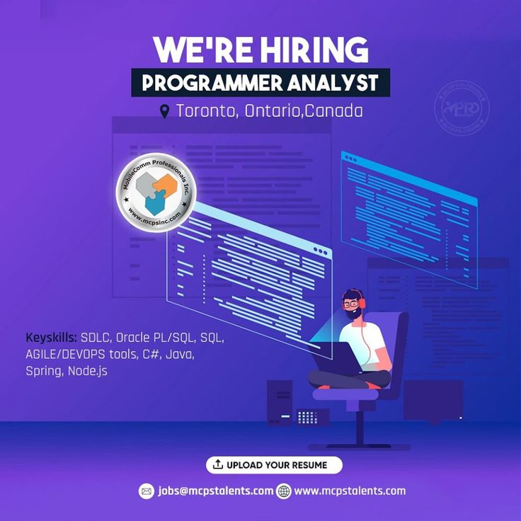 Hiring a Programmer Analyst in Toronto in 2020 Network