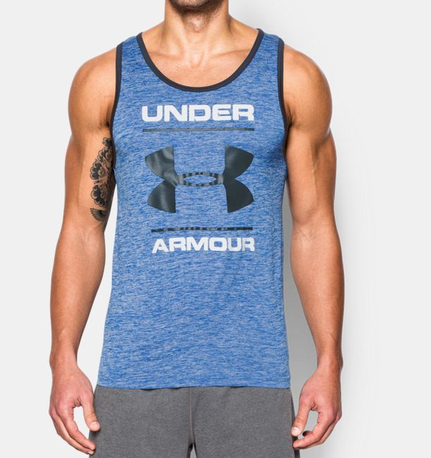 Men's UA Tech™ Graphic Tank. Mens TopsGraphic TankUnder ArmourFor  MenUaWorkout GearWorkout EquipmentWorkout ClothingFitness Gear
