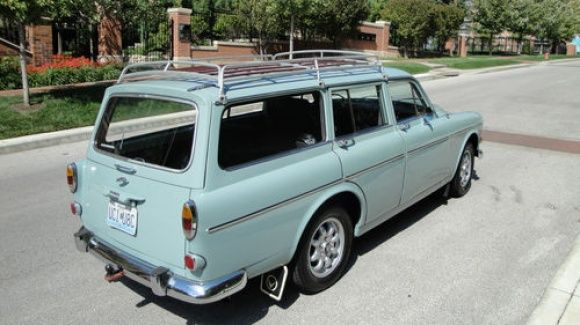 1966 Volvo 122S Manual transmission Wagon - identical - My most favorite car ever - Owned