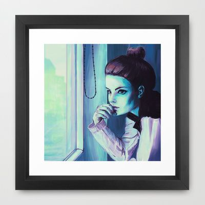 afternoon Framed Art Print by Fabian Rodriguez - $34.00