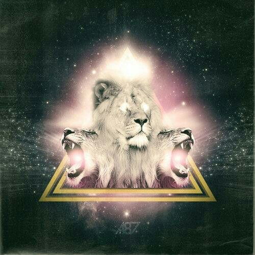 Lion hipster - photo#29