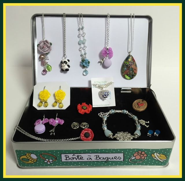 Suze likes, loves, finds and dreams: Etsy Weekend: Box With Handmade Jewelry Giveaway