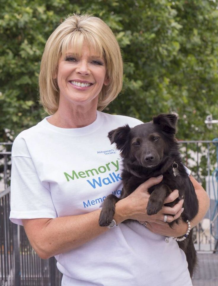 Ruth Langsford with her beloved Maggie