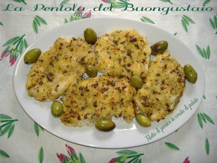 Filetto+di+persico+in+crosta+di+patate
