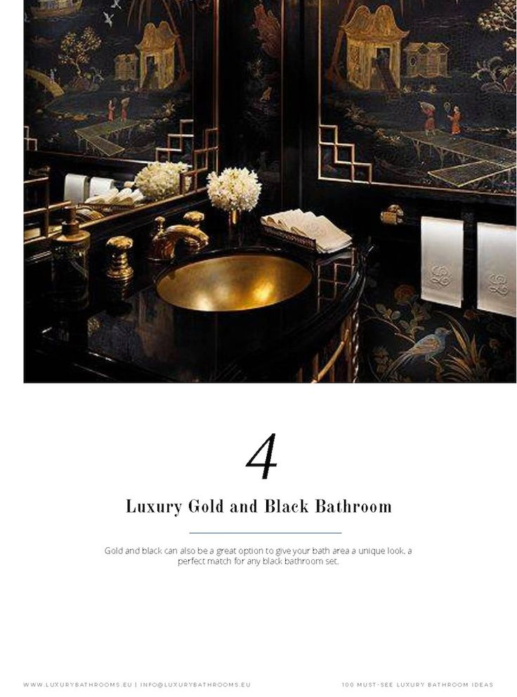 And all this only selected from collections of the world's top brands and designers. Subscribe now and get all you need to know about Luxury Bathrooms in one click. ➤To see more Luxury Bathroom ideas visit us at www.luxurybathrooms.eu #luxurybathrooms #homedecorideas #bathroomideas @BathroomsLuxury