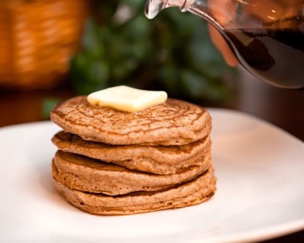 Fluffy, yummy and high-fiber Pancakes that will only cost you 1 point on the Weight Watchers scale.
