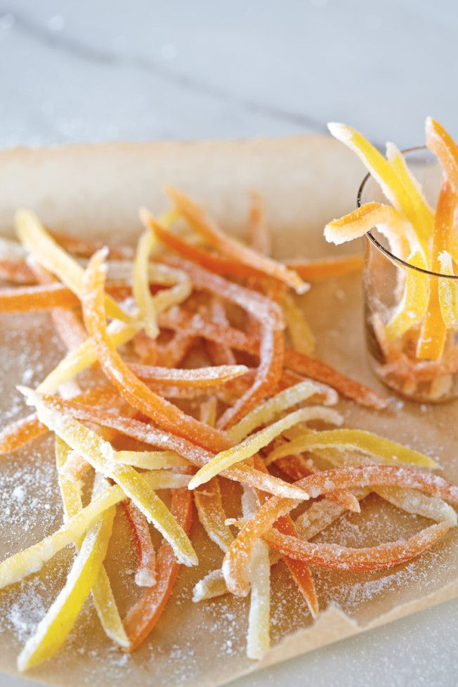 Weekend Project: Candied Citrus Peel