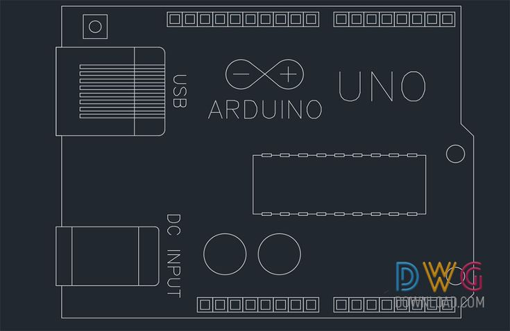 Arduino Uno Dwg Drawing. The electronic application card is an arduino uno dwg AutoCAD drawing.And about electronic appliances cad blocks, arduino uno dwg, electronic devices dwg.