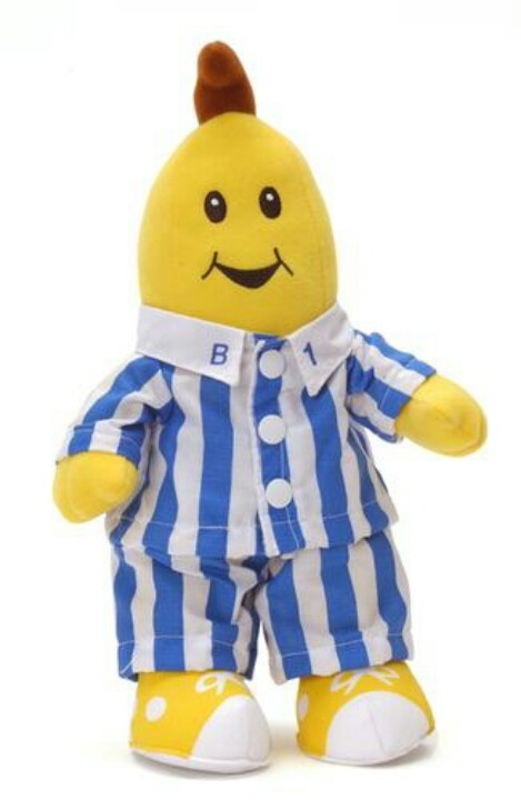 Bananas in Pajamas...I had one just like this and I took it everywhere I went when I was little! #90's Kid #90's Toys #Childhood Memories