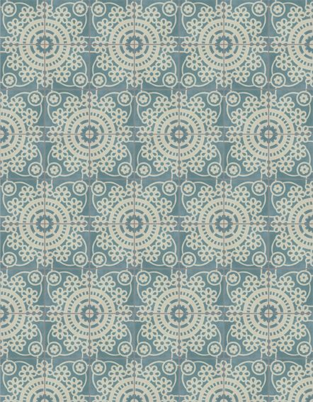 Pip Studio - tile pattern blue