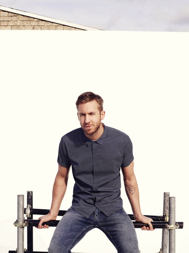 Calvin Harris by Aitken Jolly for Sunday Times Style