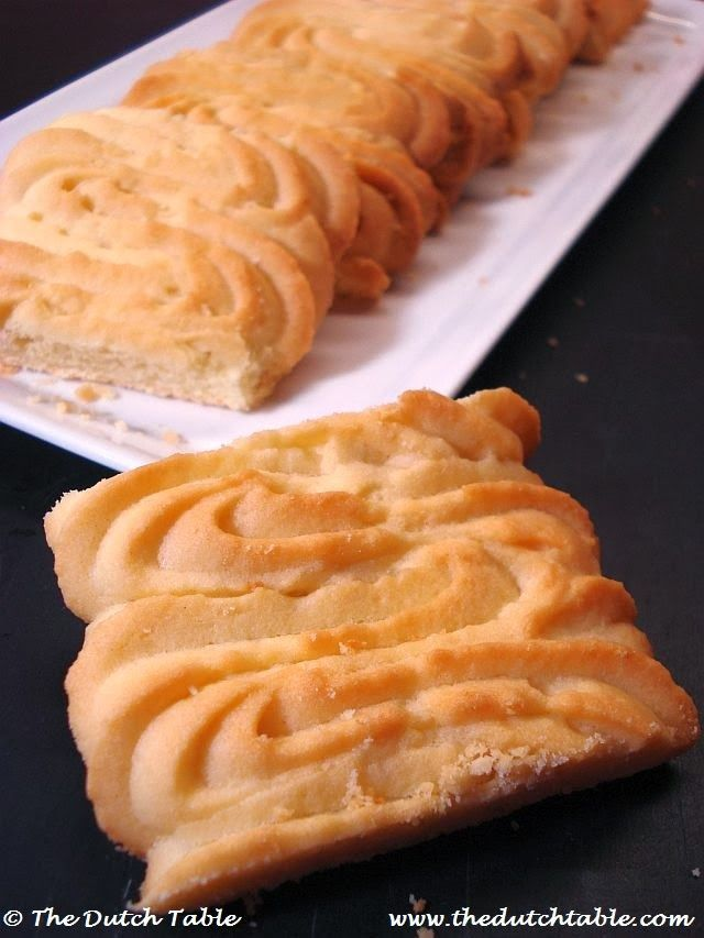 The Dutch Table: Botersprits (Dutch Butter Cookies)