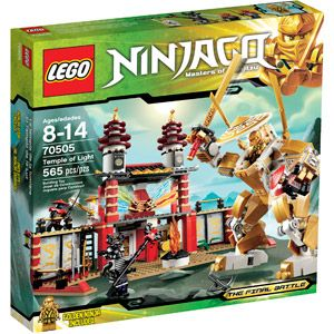 LEGO Ninjago Temple of Light Play Set