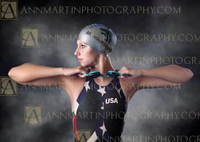 Plano West swim team senior pictures photography of swimmer from C.O.P.S. poses examples