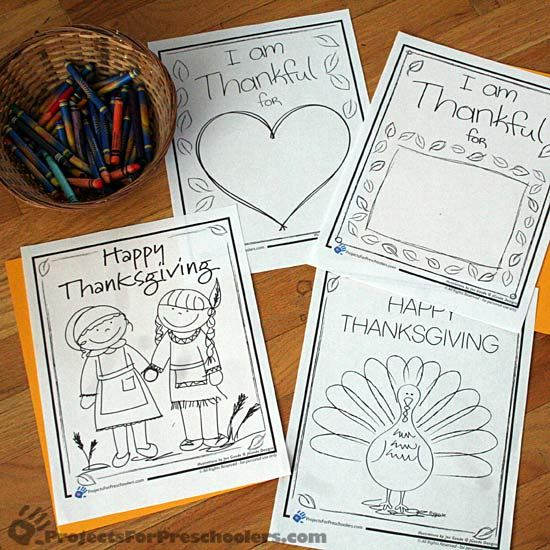 Thanksgiving coloring pages and activity sheets