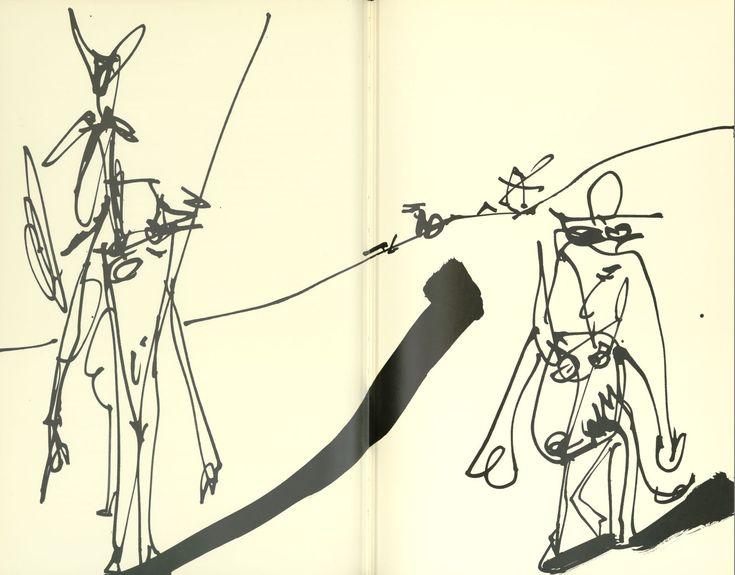 kidpix: Дон Кихот с иллюстрациями Антонио Саура