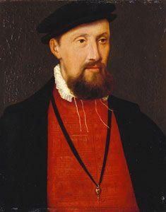 Portrait of Archibald Douglas, 6th Earl of Angus, second husband of Margaret Tudor.