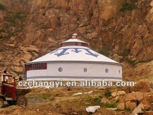 yurta mongola tienda de pvc-Carpas