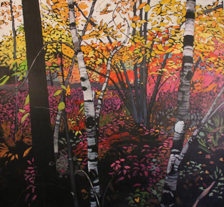 Jeremy Vaughan, Forest Interior (unfinished) 2016