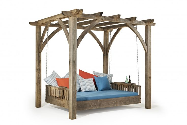 New for 2017 - The Swinging Day Bed. See it on our Stand RHW295 at Chelsea Flower Show