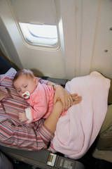 Follow Flying with an infant can be super stressful especially if you're flying alone but here are a few tips that I have gathered from our first experience that may make your trip a little more smoother: If you're taking your car seat / stroller (travel system) – I suggest taking it all the way …