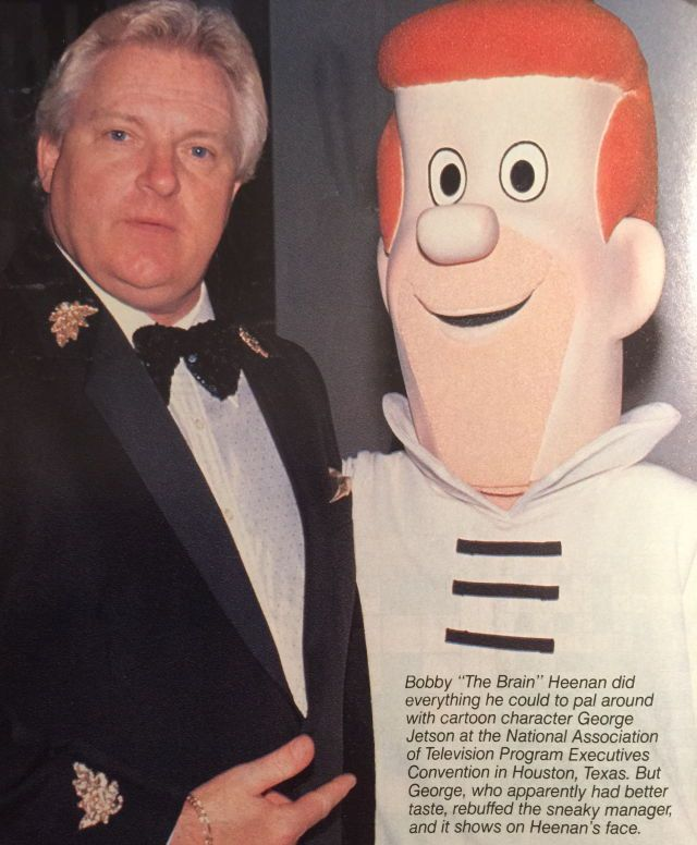 Bobby Heenan and George Jetson