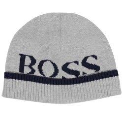 HUGO BOSS - Bonnet gris