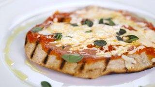 Daphne Oz's Grilled Pizza on Pita Bread Recipe   The Chew - ABC.com