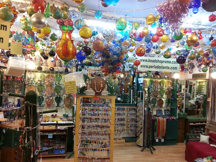 Bead Shop Rome®-La Perla D'Oriente©: Blow Glass Balls  Christmas Ornaments in Italy