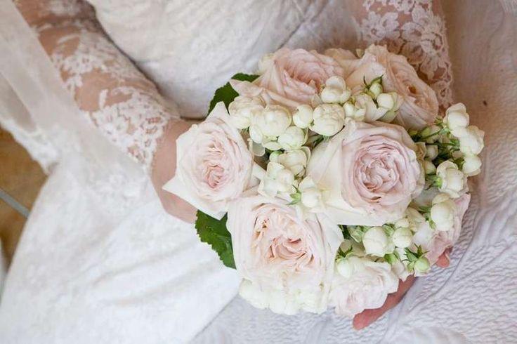 Bouquet da sposa 2015 - Bouquet rose inglesi