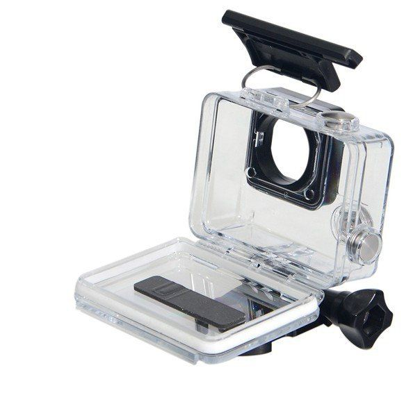 Sold by goprostuff.net ___  Use this slim, lightweight housing as a spare or replacement for your HERO4, HERO3+ or HERO3 camera. The flat glass lens delivers maximum image sharpness above and below water. #gopro #goprohero5 #goprosession #goprohero4 #goprohero3 #hero3plus #goprostuff #goproaccessories #gopro #actioncam #housing #frame #accessories