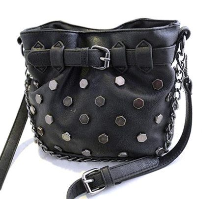 Distressed Rivited Punk Hip Bag by GypsyOutfitter on Etsy