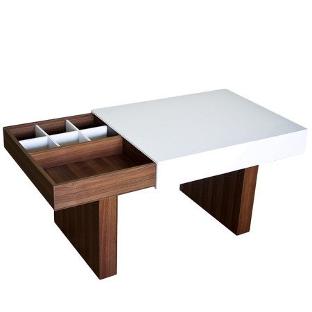 Loving this style coffee table! Jossandmain.com