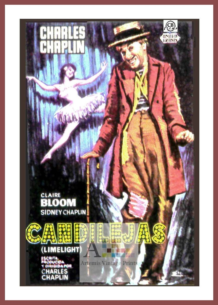 17 best The Charlie Chaplin Movie Poster Collection images ...