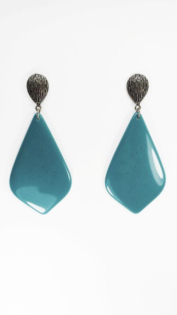 Veja nosso novo produto Bijoux Brinco Resina Thalita - Cód. A1061! Se gostar, pode nos ajudar pinando-o em algum de seus painéis :)