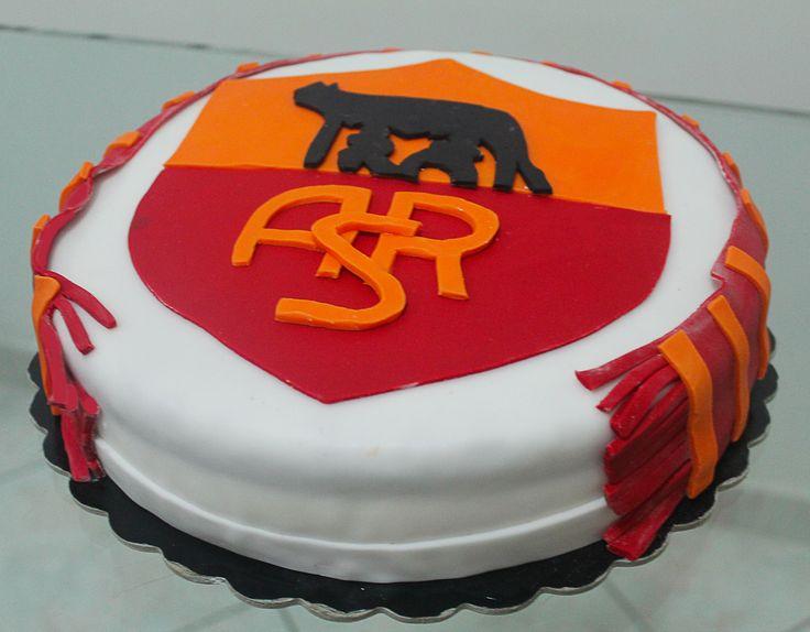 Torta A.S. Roma Cake design Pinterest