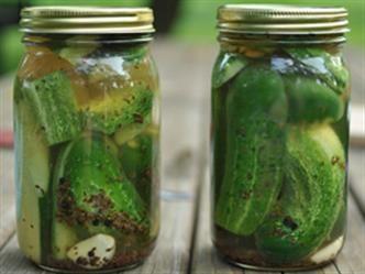 garlic refrigerator dill pickles | Canning & Preserving | Pinterest