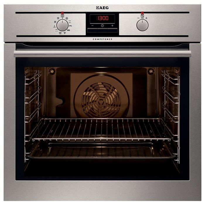 AEG 60cm 9 function Pyrolytic oven (model BP300300AM)  for sale at L & M Gold Star (2584 Gold Coast Highway, Mermaid Beach, QLD). Don't see the AEG product that you want on this board? No worries, we can order it in for you!