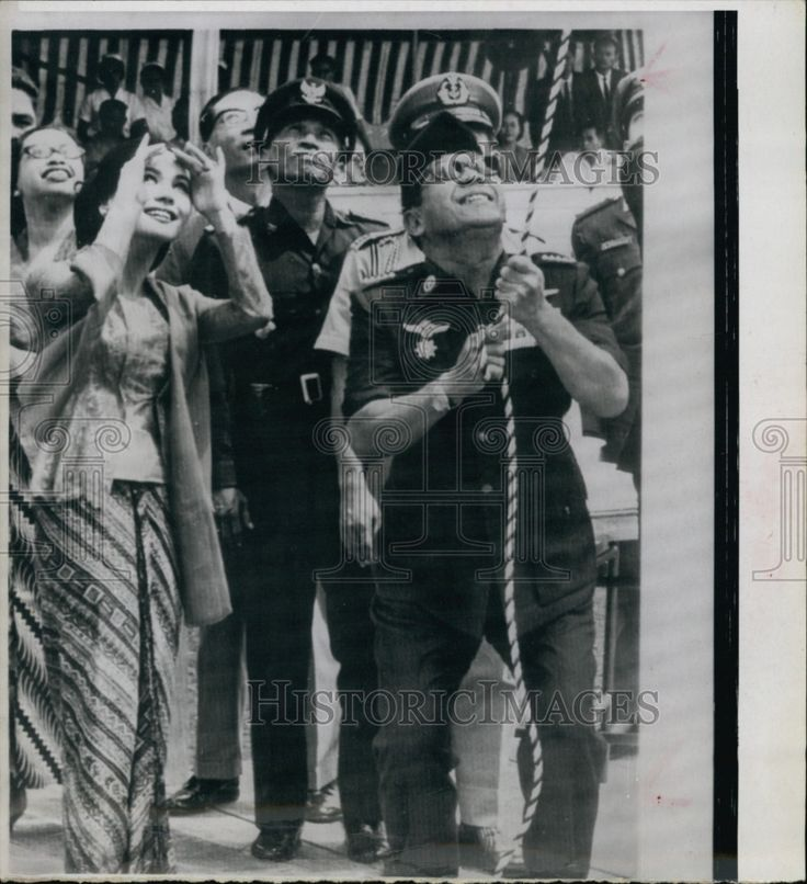 Press Photo Madame Ratna Sari Dewi Sukarno