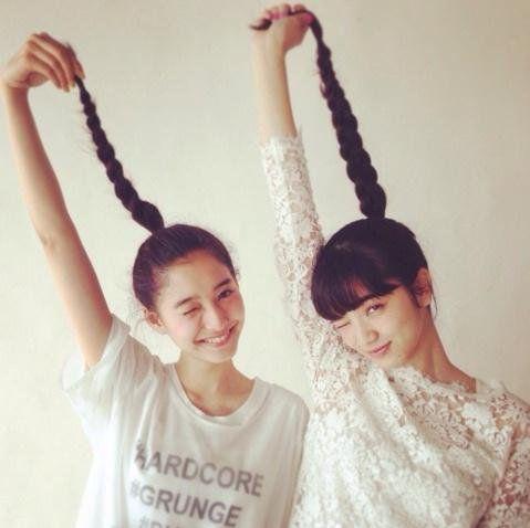 Yuko Araki & Nana Komatsu