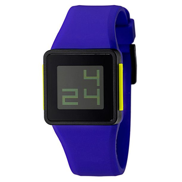 Nixon Newtown Digital Indigo Unisex Watch Nib A137374 With Images