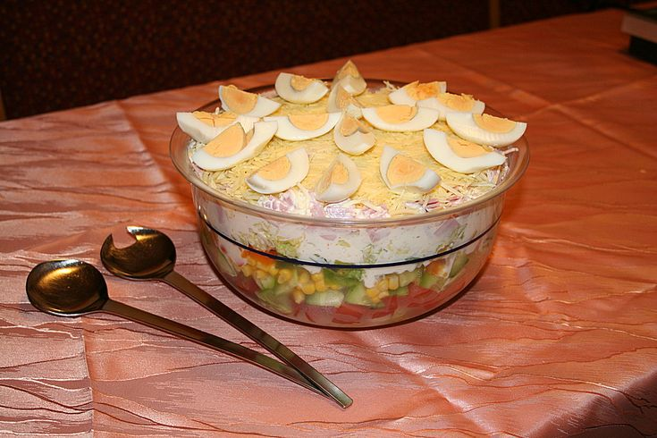 Schichtsalat klassisch 1