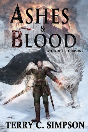 Ashes & Blood by Terry C Simpson